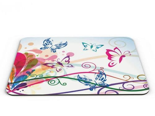 Butterflies Colourful Computer PC Mousemat