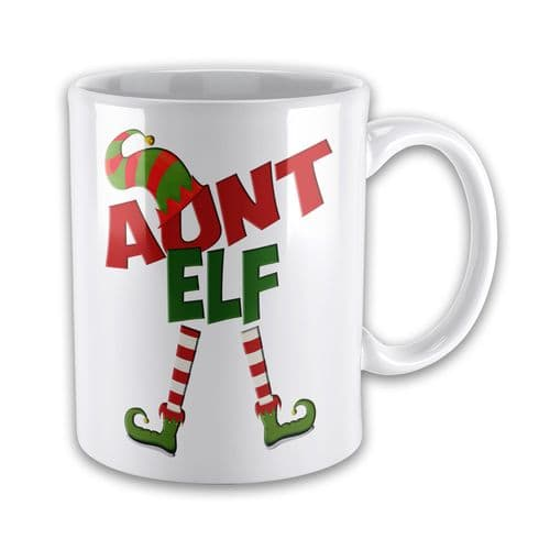 Christmas Elf Funny Novelty Gift Mug - Female Titles