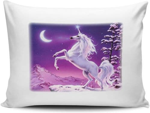 Elegant Unicorn Novelty Pillow Case