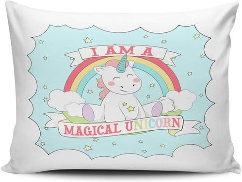 I Am A Magical Unicorn Funny Cute Pillow Case