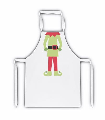 I'm A Christmas Elf Funny White Adult Apron