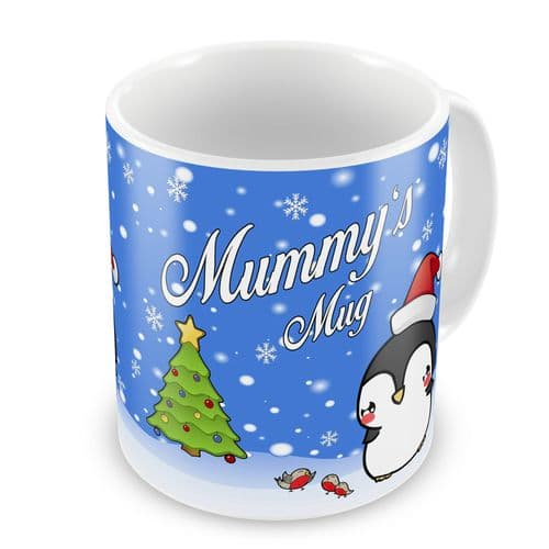 Mummy's Mug Christmas Novelty Gift Mug