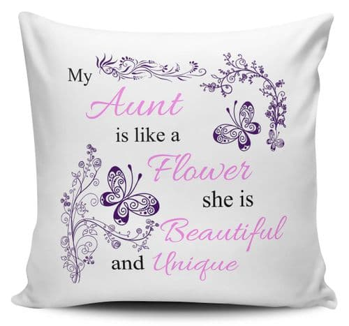 My...Is Like A Flower She Is Beautiful & Unique Cushion Covers