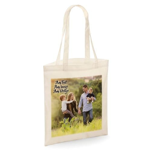 Personalised (Any Name / Image) Tote Shopper Bag
