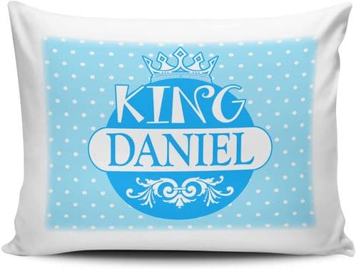 Personalised King Funny Novelty Pillow Case