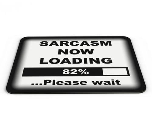 Sarcasm Now Loading PC Mousemat