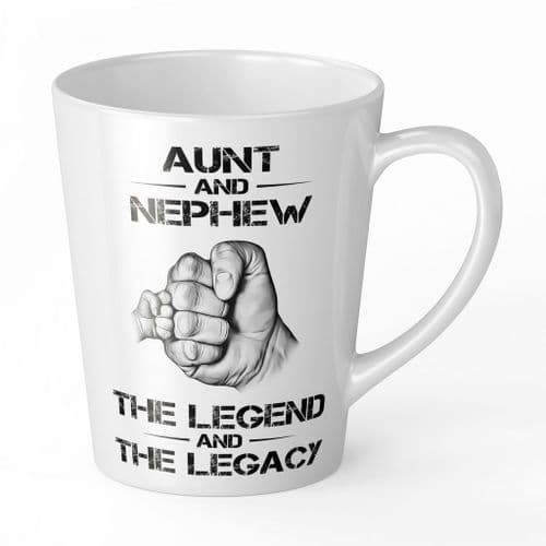 The Legend And The Legacy Novelty Gift Latte Mug