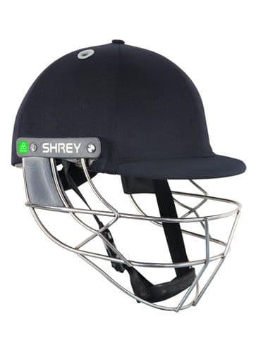 Shrey Koroyd Stainless Steel - (Senior, Large, Navy)