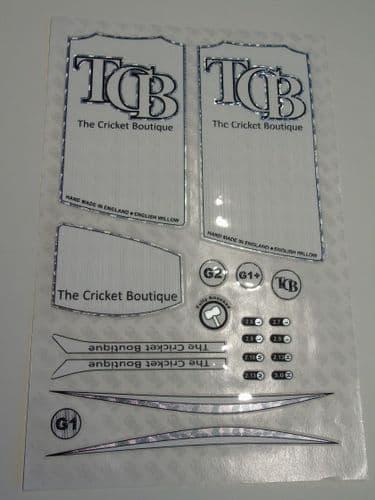 TCB White Edition Sticker Sheet