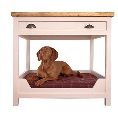 Handmade Wooden Dog Crate Bed Frame