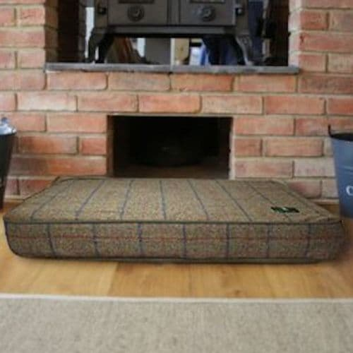 Memory Foam Dog Bed  - Tweed