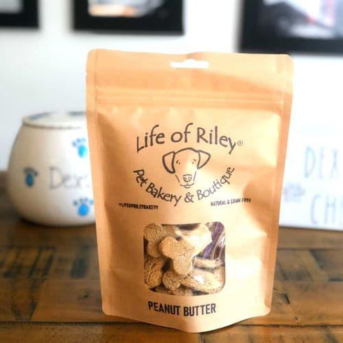 Natural Dog Treats - Peanut Butter Bones