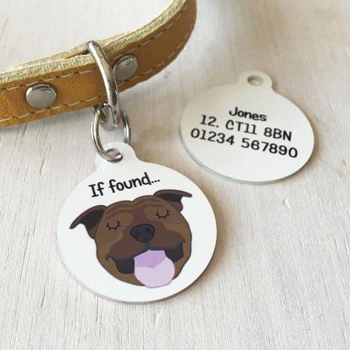 Personalised Dog ID Tag - Bold
