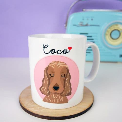 Personalised Dog Mug - Love