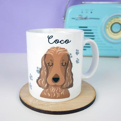 Personalised Dog Mug - Pawprints