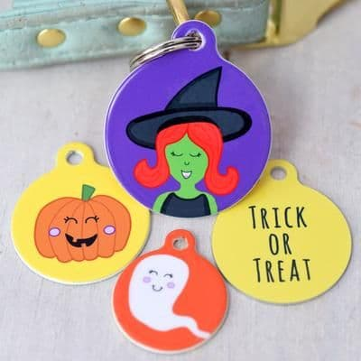 Pet ID Tag - Halloween