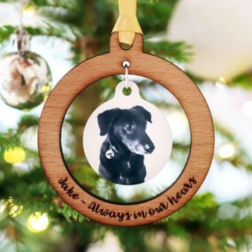 Pet Memorial Christmas Tree Decoration