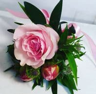 PALE PINK CORSAGE