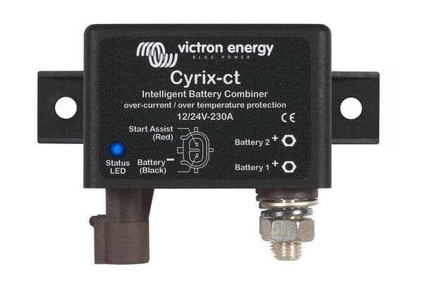 Victron Cyrix Battery Combiner 12/24V 230A - CYR010230010R