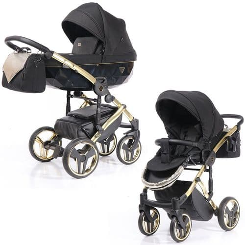 Junama Sapphire ONYX - 2in1 Pushchair with Carrycot