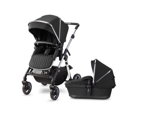 Silver Cross Pioneer 2020 Pushchair & Carrycot, Pepper