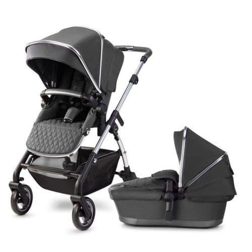 Silver Cross Wayfarer 2020 Pushchair & Carrycot - Clay